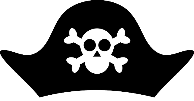 Pirate Hat Clipart transparent PNG.
