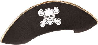 Pirate Hat Transparent PNG Pictures.