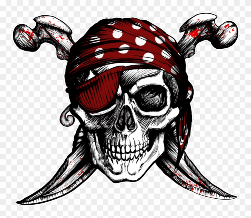 Drawing Pirates Pirate Head Clipart (#2776352).
