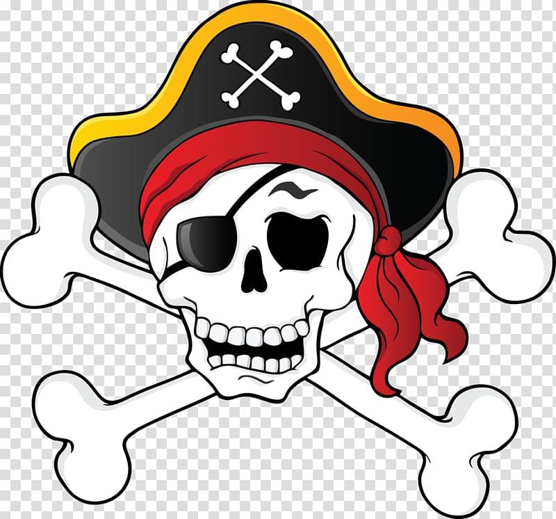 Pirate skull icon, Skull & Bones Piracy Skull and crossbones.