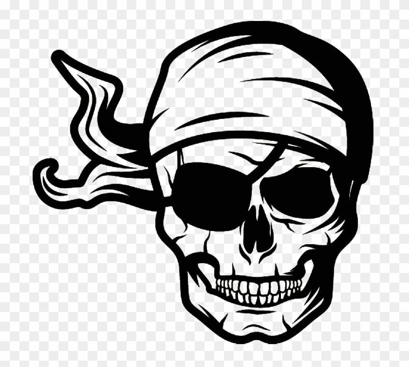 Pirate Skull Png Pic.
