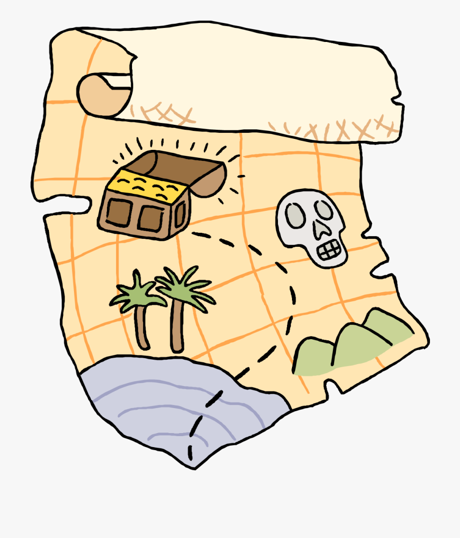 Treasure Map Clip Art.