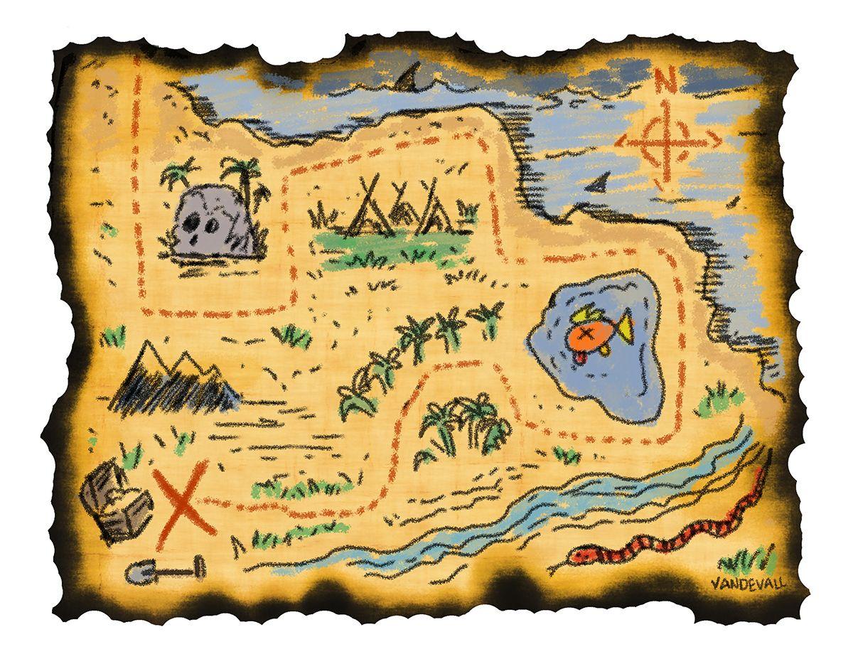 printable treasure maps for kids.