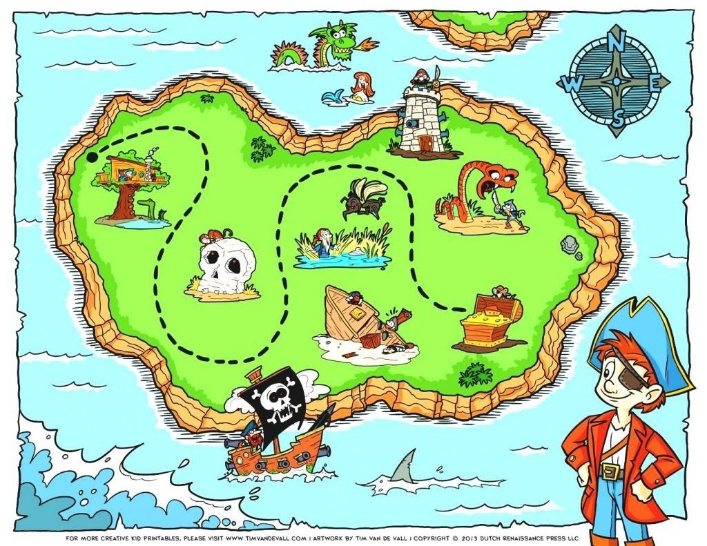coloring ~ Printableate Map Treasure Maps Clipart For Kids.
