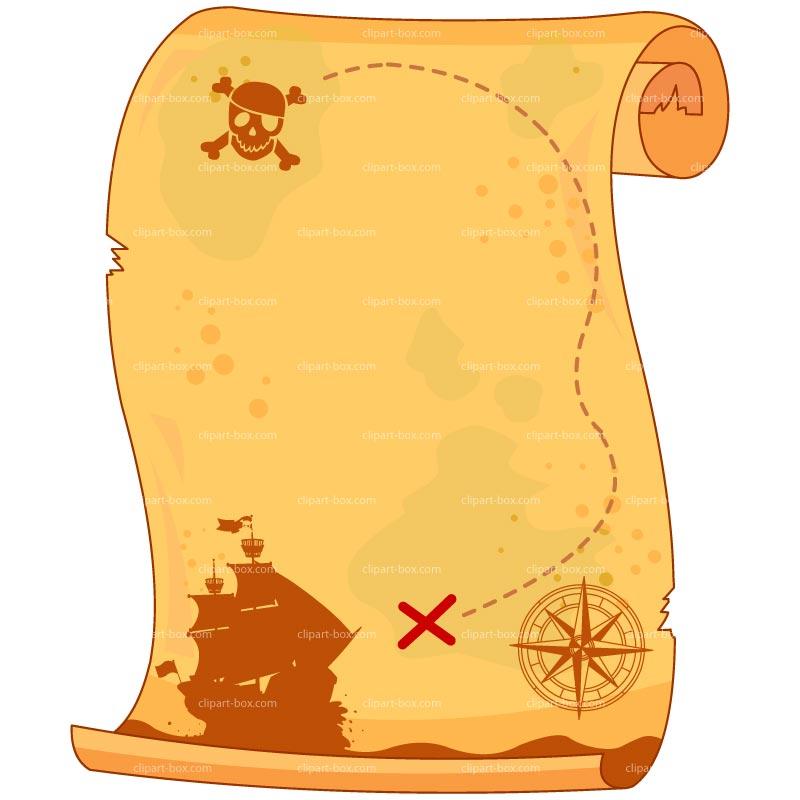 80+ Pirate Map Clip Art.