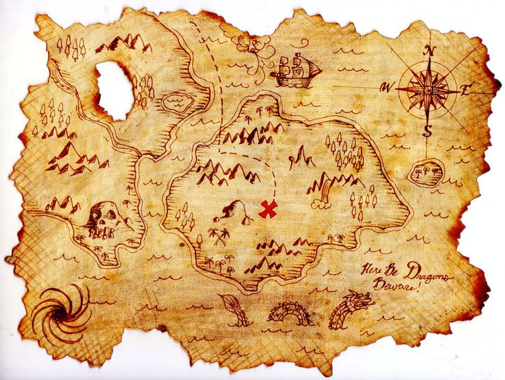 Free Pictures Of A Pirate Map, Download Free Clip Art, Free.