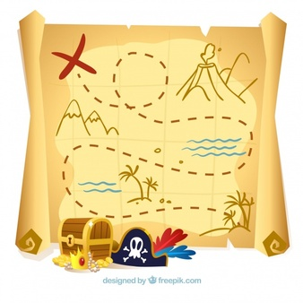 Treasure Map Vectors, Photos and PSD files.