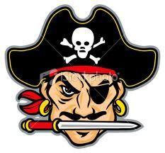 Pirate mascot.