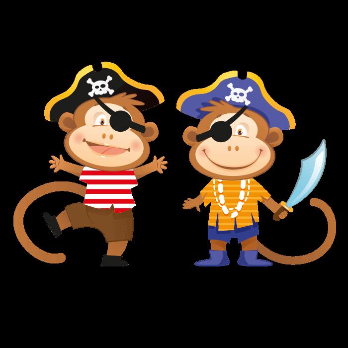 Pirates clipart monkey, Pirates monkey Transparent FREE for.