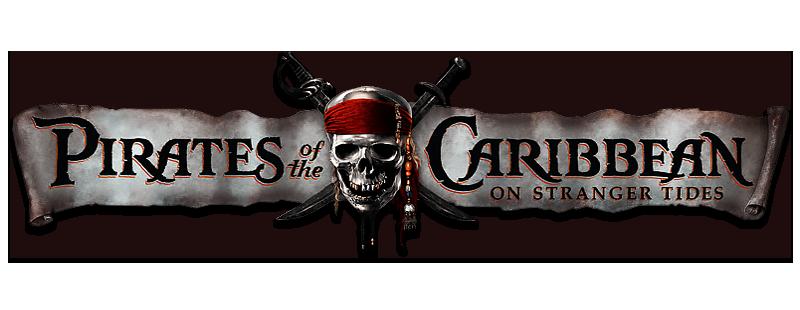 Pirates of the Caribbean logo.