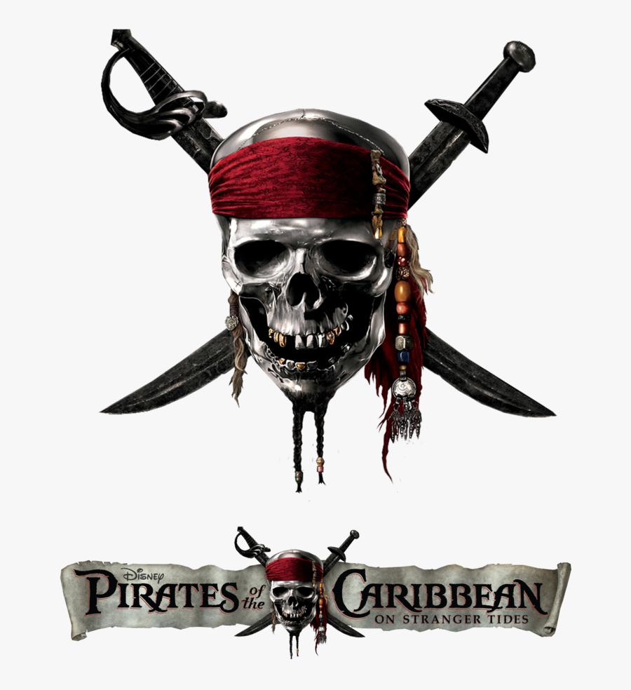 Transparent Pirate Skull Png.