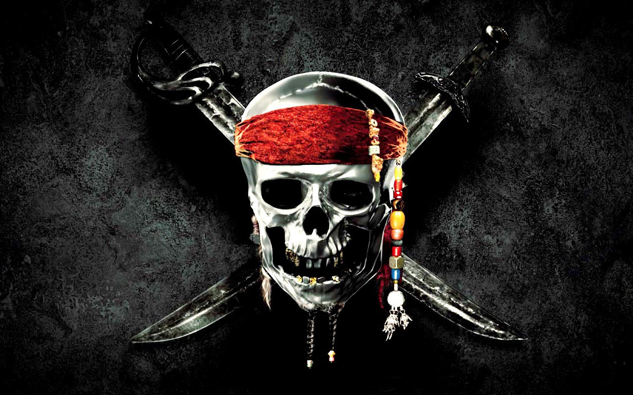 Pirates Of The Caribbean 4 Logo Wallpaper.