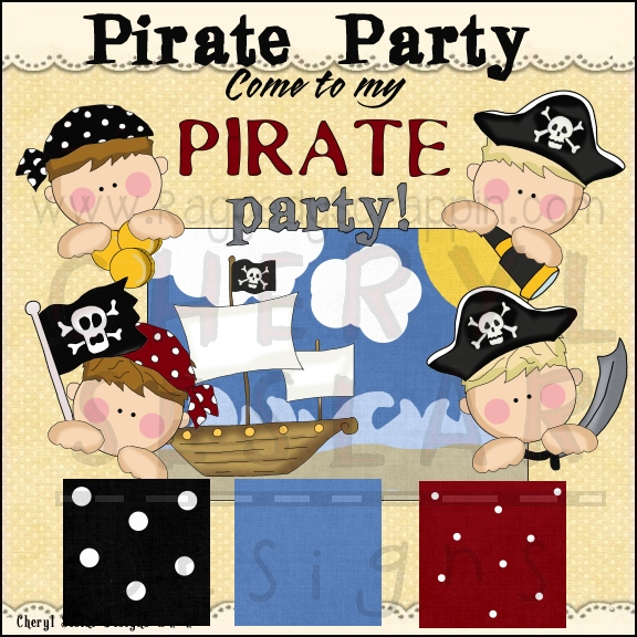 Pirate Party Clip Art Download [RS98004].