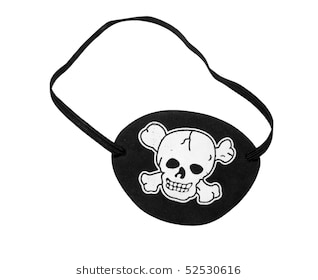 Pirate eye patch clipart 6 » Clipart Station.