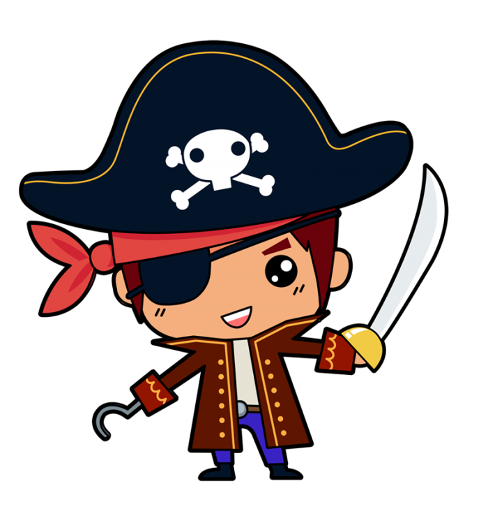 Pirate Png Pirate Png Vector, Clipart, PSD.