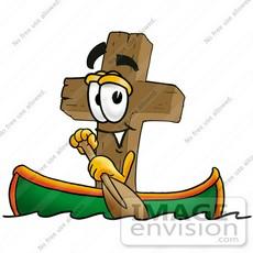 Pirate Row Boat Clip Art.