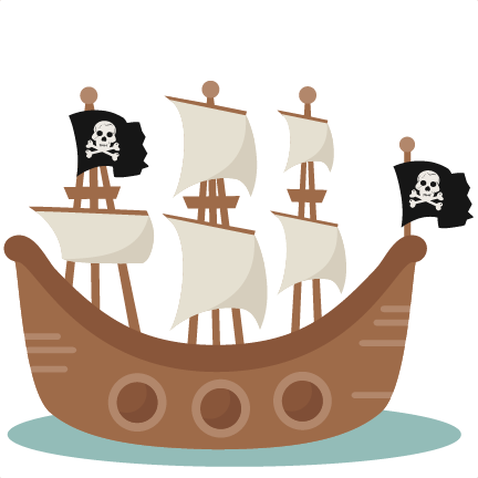 Pirate ship clip art clipart.