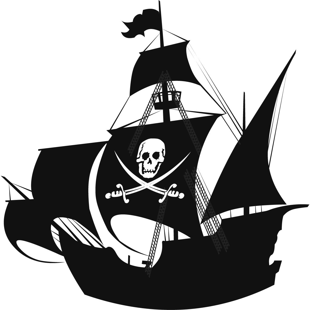Pirate ship clipart kid 6.