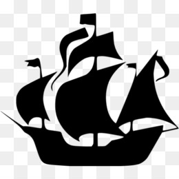Pirate Ship Silhouette PNG and Pirate Ship Silhouette.