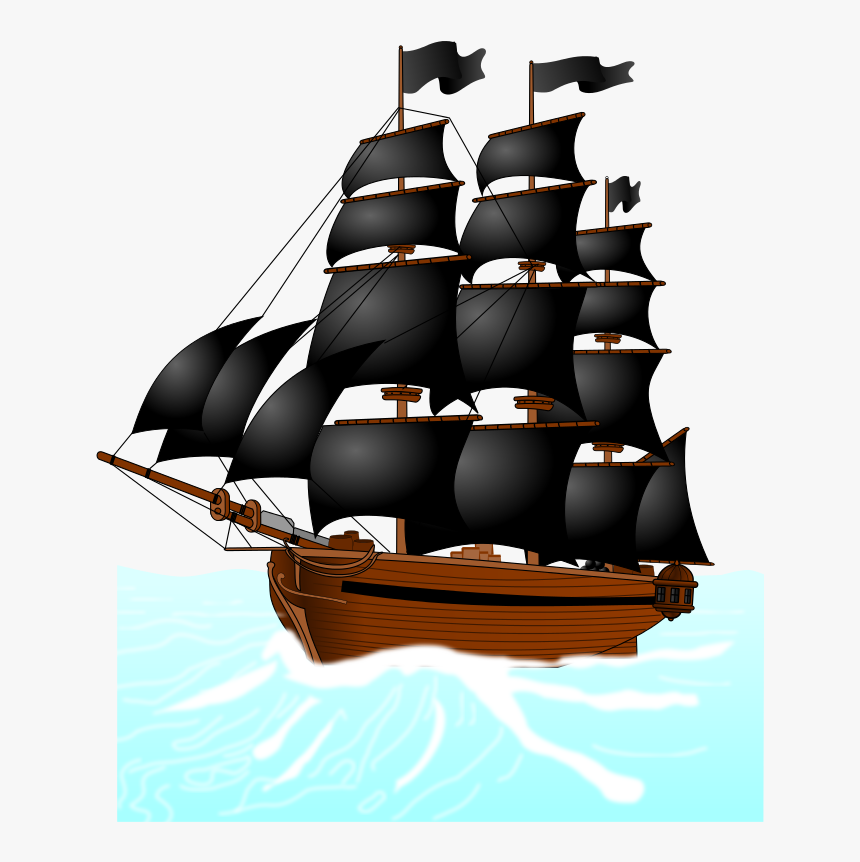 Pirate Ship Cartoon Clipart Free To Use Clip Art Resource.