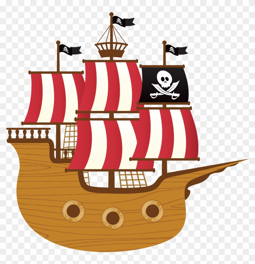 Pirate Ship Clip Art Group (+), HD Clipart.