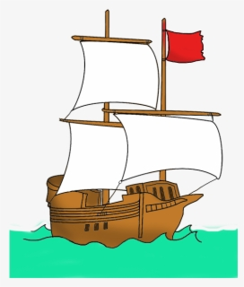 Free Pirate Ship Clip Art with No Background.
