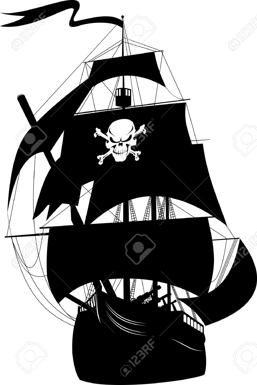 8,594 Pirate Ship Cliparts, Stock Vector And Royalty Free Pirate.