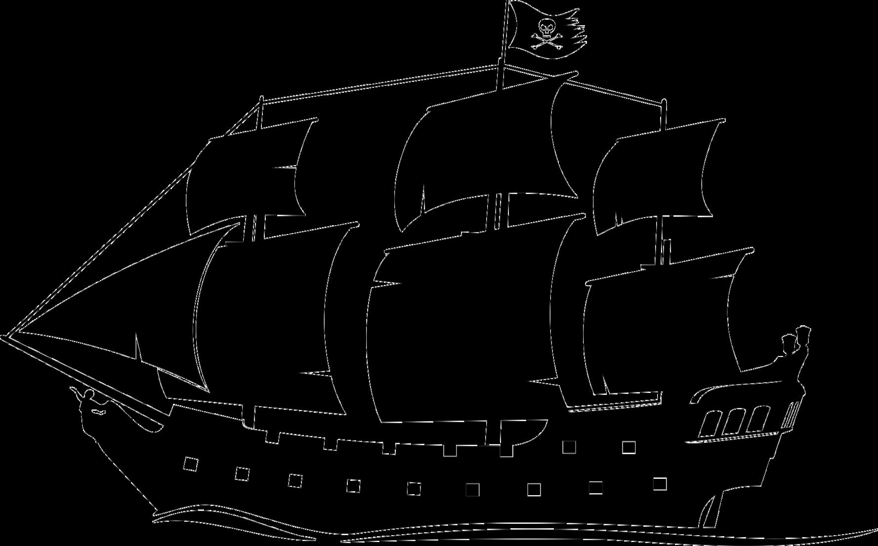 Ship Black Pearl Boat Piracy Clip art.