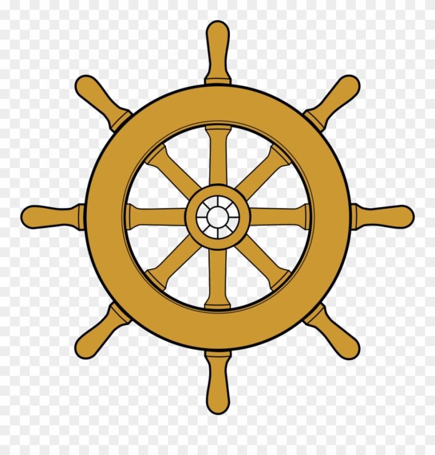 Boat Wheel Clipart Ship\'s Wheel Dharmachakra Clip Art.