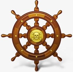 Pirate Ship Steering Wheel PNG, Clipart, Control, Pirate.
