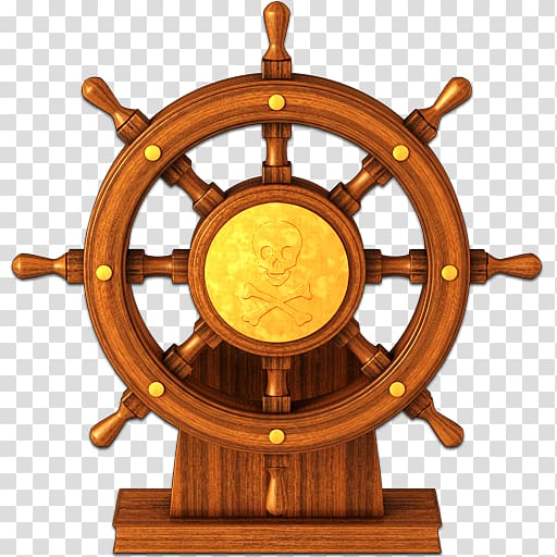 Brown pirate ship wheel , Ship\\\'s wheel , High Resolution.