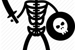 Pirate skeleton clipart 8 » Clipart Portal.