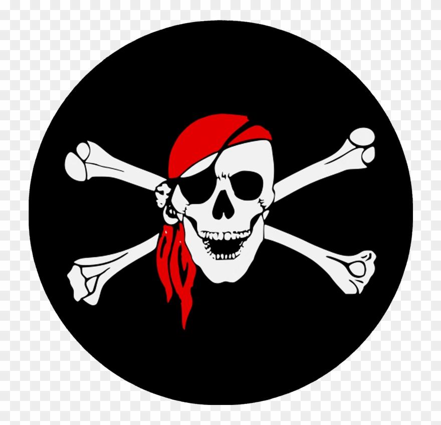 Pirate Skull Bones Clipart (#3016960).