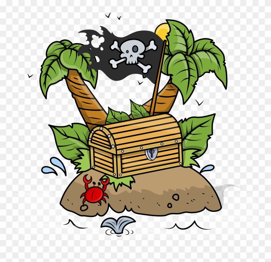 Clip Royalty Free Download Pirate Treasure Chest Clipart.