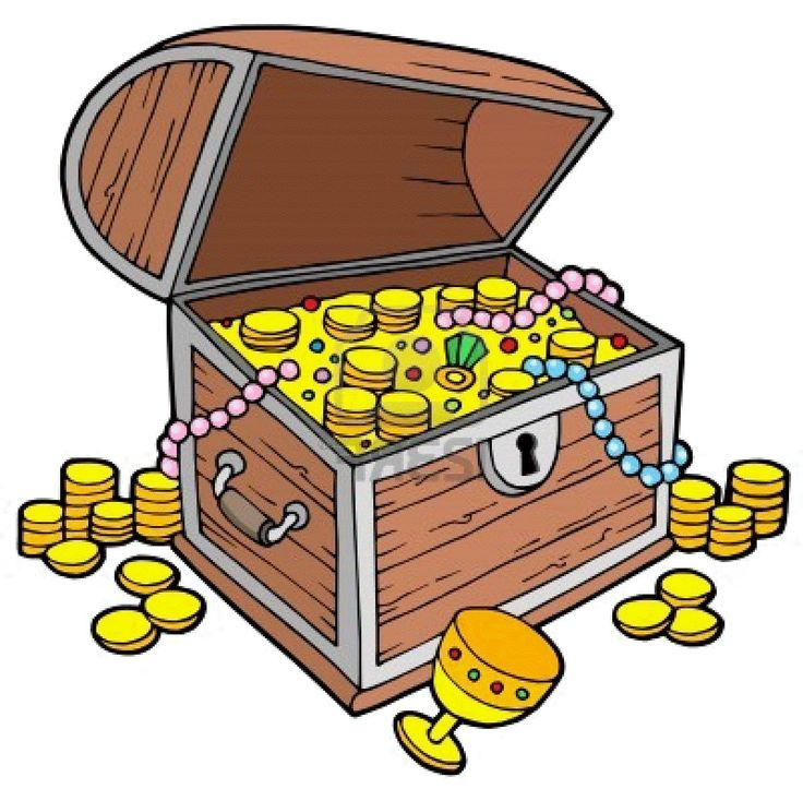 Pirate Treasure Chest Clipart Free.