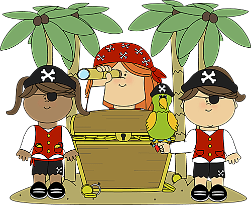 Talk Like a Pirate Day Clip Art and Fonts.