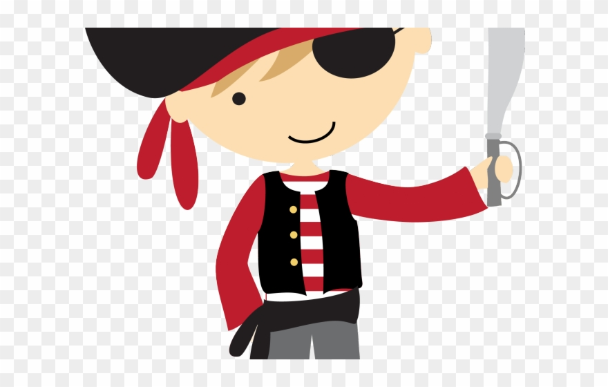 Pirates Clipart Writing.