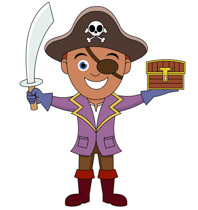 Free Pirates Clipart.