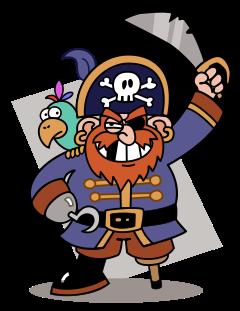 Pirate Clip Art Free.