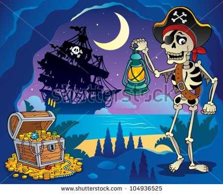 Pirate Cove Stock Photos, Royalty.