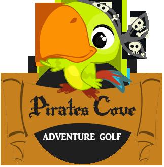 Pirate Cove Adventure Golf Course.