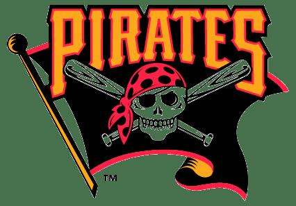 Pittsburgh Pirates Flag Logo transparent PNG.
