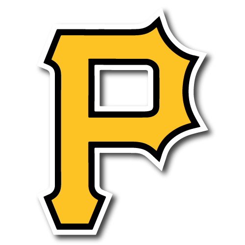 Pittsburgh Pirates P Logo transparent PNG.