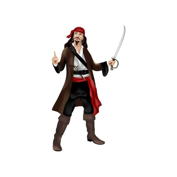 Pirates of caribbean clipart.
