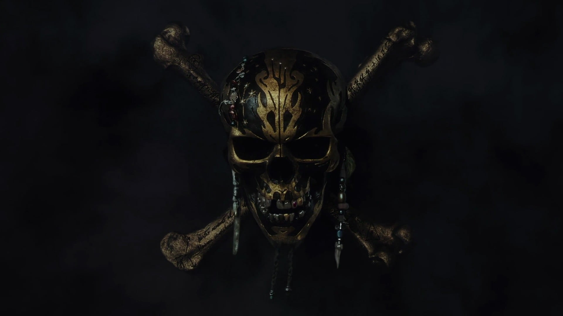 Pirates of The Caribbean cover, skull, Pirates of the.