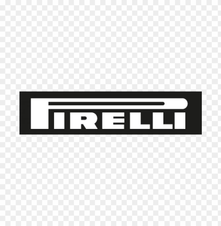 pirelli tyres vector logo free.