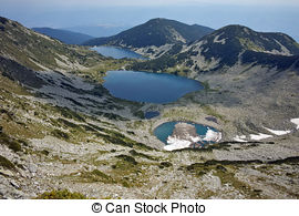 Stock Photo of Panorama of Pirin mountain.