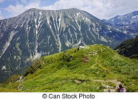 Stock Image of Amazing view to Todorka Peak, Pirin Mountain.