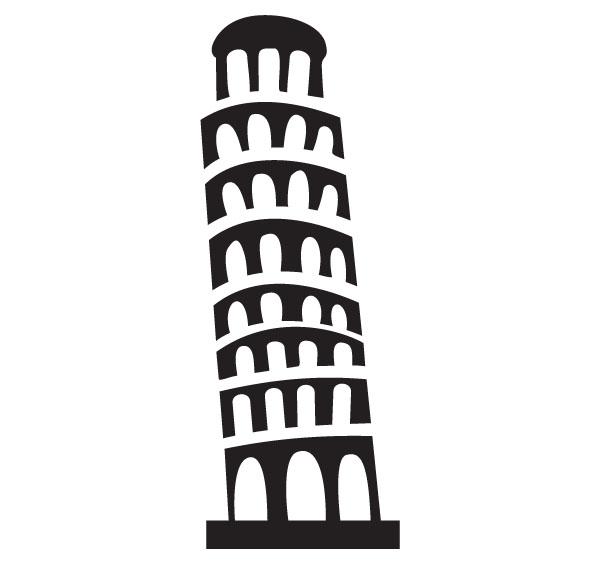 Pisa Clipart.