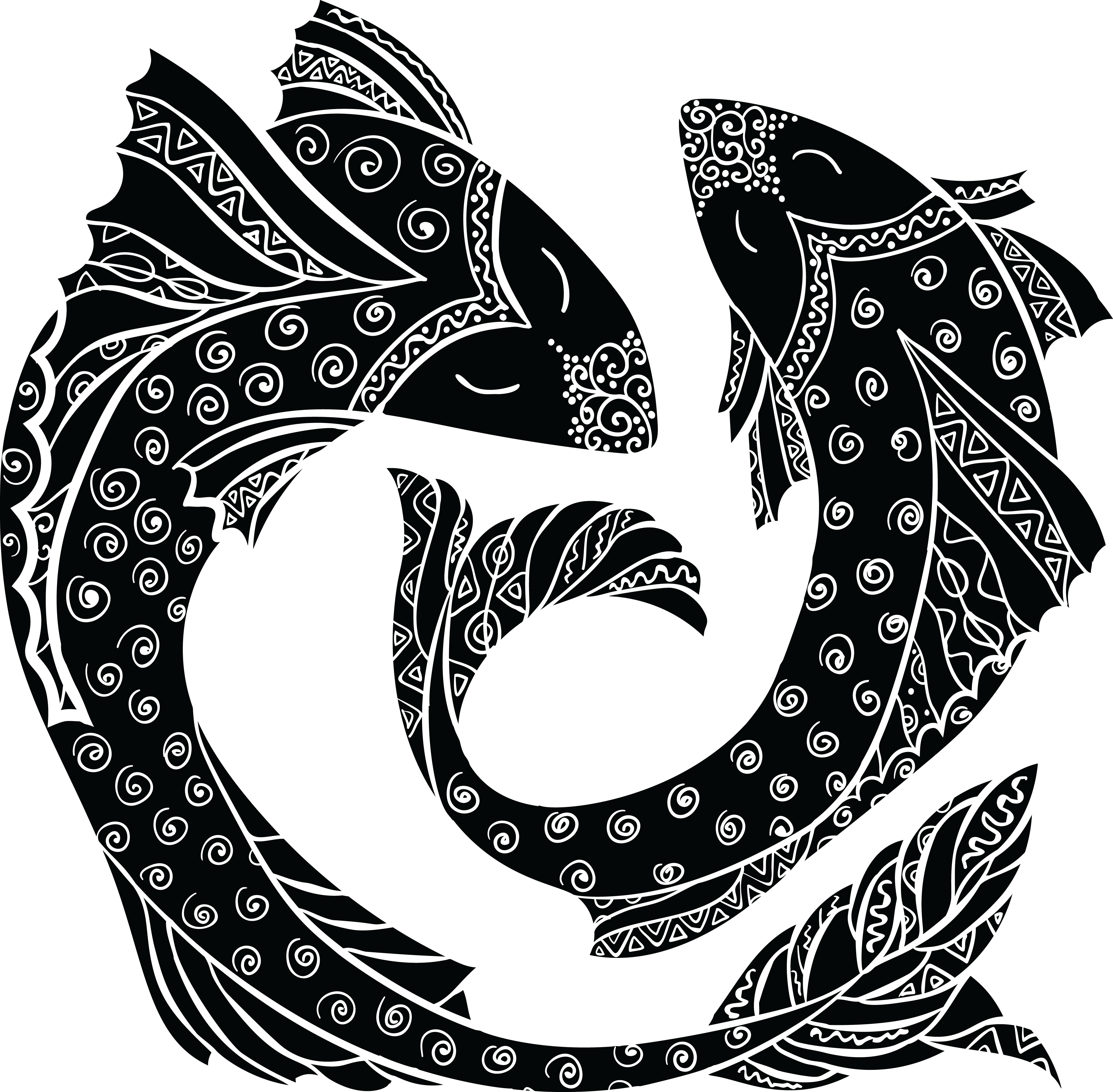 Pisces Astrological sign Symbol Zodiac Astrology.